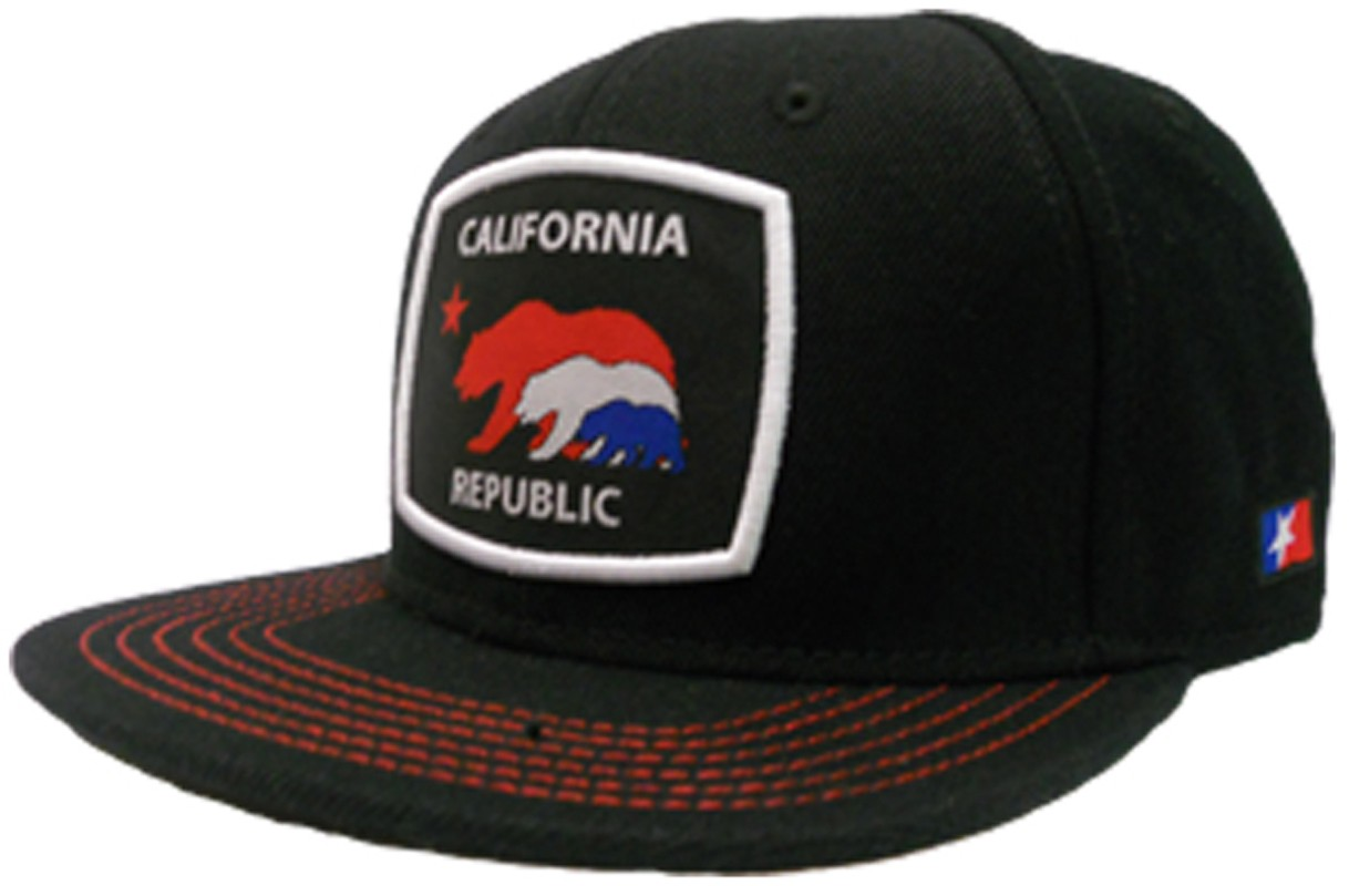 So Cal California Republic Treebear Snapback Hat