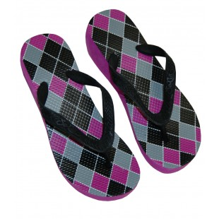 So Cal Argyle Cheetah High Sandal