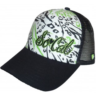 So Cal Chasing Cheetah Trckr Jr Trucker Hat