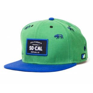 So Cal Bolt Snapback Hat