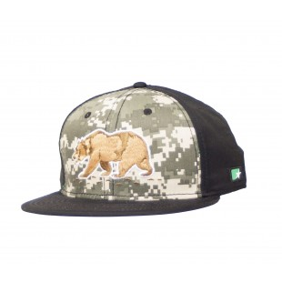 So Cal Camogrizzly Snapback Hat