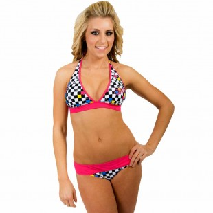 So Cal Finishline Bikini Top