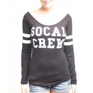 So Cal Crew Ranglan L/S Shirt
