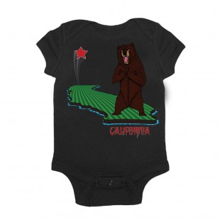 So Cal Cali Grizzly Onesie