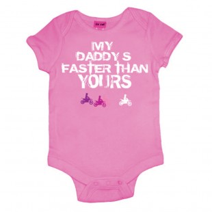 So Cal Faster Daddy Onesies