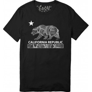So Cal California Republic Drawling T-Shirt